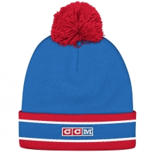 Шапка  с пумпоном CCM Fleece Cuffed Pom Knit Hat